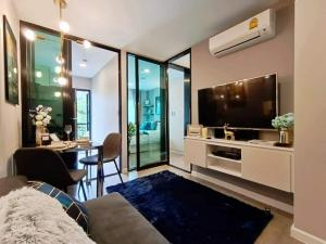 For SaleCondoBangna, Bearing, Lasalle : W0870 Condo for sale, Pause Sukhumvit 103, 1 bedroom 1 bathroom, size 26 sq.m, 2nd floor, fully furnished