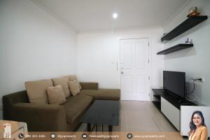 For RentCondoRama9, Petchburi, RCA : JY-R00052-Lumpini Place Rama 9-Ratchada Building B on 9th floor 37sq.m  1bed 1bath Close to MRT-Praram9 only 700m.