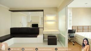 For RentCondoRama9, Petchburi, RCA : JY-R00044-For Rent Lumpini Place Rama 9-Ratchada, Building B, 21st floor, 37sq.m., 1 Bed 1 Bath, Near MRT Prama 9 (700 meter)
