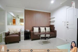 For RentCondoRama9, Petchburi, RCA : JY-R00009-For Rent Lumpini Place Rama 9-Ratchada, Building A, 9th floor, 37sq.m., 1 Bed 1 Bath, Near MRT Praram 9 (700 meter)