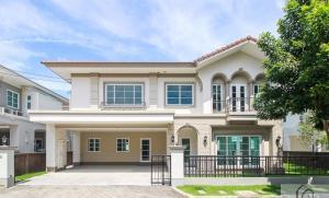 เช่าบ้านเสรีไทย-นิด้า : ให้เช่า บ้าน CASA GRAND อ่อนนุช-วงแหวน บ้านเดี่ยวพร้อมอยู่ ในบรรยากาศรมรื่น สไตล์ยุโรป  🔖 ราคา 50,000 บาท