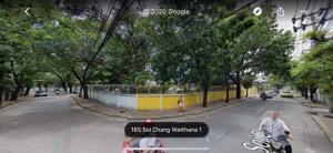 For SaleLandChaengwatana, Muangthong : Land for sale with buildings 2 rai 2 ngan 73 square wah Soi Chaengwattana 1