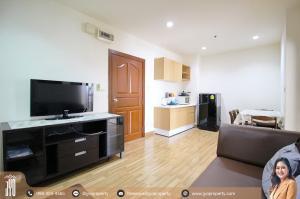 For RentCondoRama9, Petchburi, RCA : JY-R0153-For Rent PG RAMA9 , Building A, 5th floor, 35sq.m., 1 Bed 1 Bath, Near MRT Praram9 (200 meter)