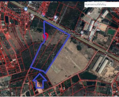 ขายที่ดินอุดรธานี : ขายที่ดิน อ.เมือง จ.อุครธานี ใกล้ศาลแรงงาน ตรงข้ามปั๊มน้ำมัน Shell ติดถนนนิตโย (AH15)