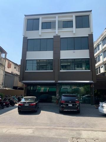 เช่าตึกแถว อาคารพาณิชย์ท่าพระ ตลาดพลู วุฒากาศ : RP115 ให้เช่าอาคาร 4 ชั้น พื่นที่ 1,000 ตรม. อยู่ตลาดพลู เหมาะทำออฟฟิศ หรือสำนักงาน ใกล้เดอะมอลล์ท่าพระ