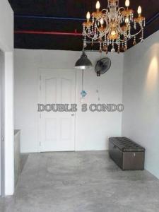 For RentCondoRattanathibet, Sanambinna : Condo for rent Lumpini Ville Phibulsongkram - River View (Lumpini Ville Pubulsongkram-Riveview) size 28 sq m, 6th floor, 1 bedroom, 1 bathroom, rental fee 6,000 baht / month (including common fees), contract step 1 year low
