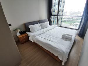 For RentCondoRama9, Petchburi, RCA : 🔥🔥 The room is empty!! All electrical appliances!! Ready to move in++ [Lumpini Suite Phetchaburi, Makkasan] Line : @vcassets 🔥🔥