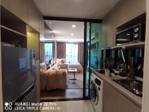 ขายดาวน์คอนโดมีนบุรี-ร่มเกล้า : ขายดาวน์ คอนโด The Origin Interchange Ram209 ชั้น19 1ห้องนอนพร้อมบิวท์อินและWalk-in closet ขนาด25.5ตร.ม.