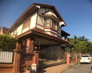 ขายบ้านเอกชัย บางบอน : ขาย บ้านเดี่ยว วรารมย์ บางบอน 5 หลังมุม 108.4 ตรว. ร่มรื่น เป็นส่วนตัว เจ้าของขายเอง 5.90 ล้านเท่านั้น