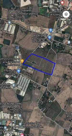 ขายที่ดินพัทยา บางแสน ชลบุรี ศรีราชา : ที่ดินตั้งอยู่ที่ บ้านบึง ชลบุรี ใกล้นิคมอมตะนคร ห่างจากมอเตอร์เวย์พานทอง ราว 20 km