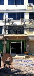 For SaleHome OfficeBangna, Bearing, Lasalle : Home Office 6 ชั้น พร้อมชั้นดาดฟ้าและที่จอดรถด้านหน้า และด้านหลัง