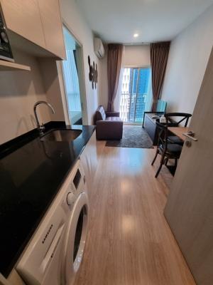 เช่าคอนโดรัชดา ห้วยขวาง : คอนโด Noble revolve รัชดา 1 ห้องนอน 1 ห้องน้ำ ขนาด 27 ตรม. ชั้น 12x ราคาดีย์