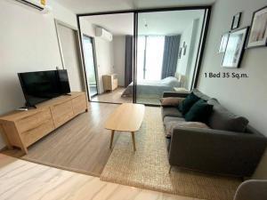เช่าคอนโดสุขุมวิท อโศก ทองหล่อ : For rent :  Rhythm Ekkamai 1นอน 35 ตร.ม ห้องตกแต่งสวยมาก