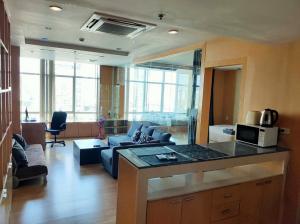 For SaleCondoWongwianyai, Charoennakor : Condo Baan Sathorn Chaophraya @BTS Krung Thon Buri 140 sq.m 3 Beds 2 Baths 18th floor, River View, Fully furnished