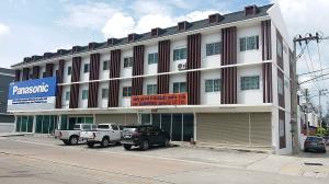 For SaleHome OfficePattaya, Bangsaen, Chonburi : โฮมออฟฟิศ 3 ชั้น หน้ากว้าง 6 เมตร 24 ตารางวา ใกล้ถนน 331 บ่อวิน-ชลบุรี