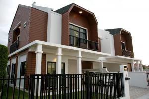 For SaleHousePattaya, Bangsaen, Chonburi : ขาย บ้านสองชั้น 3ห้องนอน 3 ห้องน้ำ 2ที่จอดรถ บางแสน-อ่างศิลา