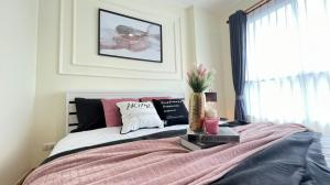 For SaleCondoKhlongtoei, Kluaynamthai : W0922 Condo for sale, Aspire Rama 4, 1 bedroom 1 bathroom, Size 29 sqm, floor 12A, City view, fully furnished, newly decorated room