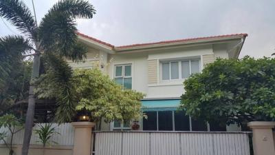 ขายบ้านรัตนาธิเบศร์ สนามบินน้ำ พระนั่งเกล้า : AE64198 ขายด่วน บ้านเดี่ยว 2 ชั้น Casa ville2 ราชพฤกษ์-รัตนาธิเบศร์ 144 ตรว 6นอน 6น้ำ เดินทางสะดวก
