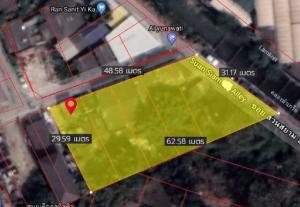 ขายที่ดินนวมินทร์ รามอินทรา : D59ขายที่ดินพร้อมสิ่งปลูกสร้าง สวนสยามในซอย อยู่ติดถนนใหญ่เข้าซอยไม่เกิน 200 เมตร 419ตรางวา