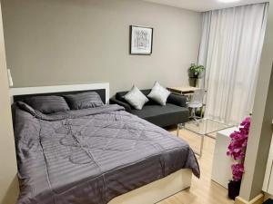 ขายคอนโดพระราม 9 เพชรบุรีตัดใหม่ RCA : 🏙ขายด่วนขาดทุน‼️ คอนโด Garden Asoke - Rama 9  ขนาด 26.35 ตร.ม. ชั้น 4 ห้องมุม   - เพียง 1.53 ล้าน🔥✨
