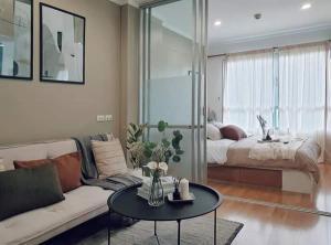 For SaleCondoPattanakan, Srinakarin : W0928 Condo for Sale, Lumpini Ville Phatthanakan - New Petchburi 1 bedroom 1 bathroom Size 26 sq.m, 3rd floor, Building B2, Fully furnished