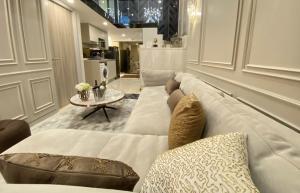 For RentCondoSathorn, Narathiwat : 🔥🔥 Risa01079 Condo for rent, knightbridght prime, Sathorn, 59 sqm, 29th floor, 2 bedrooms, Duplex42,000 baht, large rare item rooms, hard to find 🔥🔥