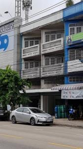 เช่าตึกแถว อาคารพาณิชย์นวมินทร์ รามอินทรา : RPJ220ขายให้เช่าอาคารพาณิชย์3 ชั้น ครึ่ง ทำเลค้าขาย ถ.คู้บอน รามอินทรา กม.8