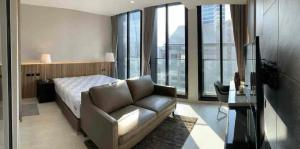 For RentCondoWitthayu, Chidlom, Langsuan, Ploenchit : 🔥🔥Risa01090 Condo for rent, Noble Ploenchit, 45 sqm, 23rd floor, Building C, beautiful, ready to move in, only 34,000 baht 🔥🔥