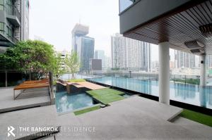 For SaleCondoRama9, Petchburi, RCA : Hot Price!!! RHYTHM Asoke @3.05MB - High Floor Fully Furnished Condo for Sale Near MRT Phra Ram 9