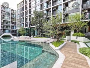 For RentCondoChaengwatana, Muangthong : H299 Condo for rent. Atmoz Chaengwattana, 8th floor, price 8,500 per month.