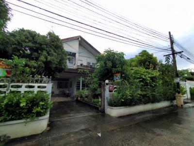 ขายบ้านเกษตรศาสตร์ รัชโยธิน : ขาย บ้านเดี่ยว หมู่บ้าน เสนานิเวศน์ 2 ถ.เกษตร-นวมินทร์ พื้นที่ 70 ตร.ว. 4 ห้องนอน 2 ห้องน้ำ เดินทางสะดวก พร้อมเข้าอยู่