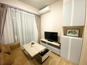 For RentCondoBangna, Bearing, Lasalle : For Rent Unio Sukhumvit 72 Condominium, (BTS Bearing), 2 bedrooms, 41 sqm., Nice garden view