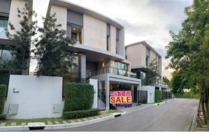 For SaleHouseKaset Nawamin,Ladplakao : Detached house for sale, Super Luxury, Baan Klang Muang CLASSE , Ladprao, new house, the most private. ready to move in