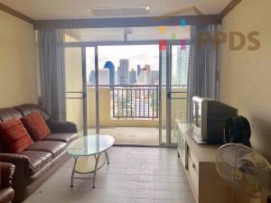For SaleCondoKhlongtoei, Kluaynamthai : Big 1 bedroom condo for sale near MRT underground train and close to Asoke also