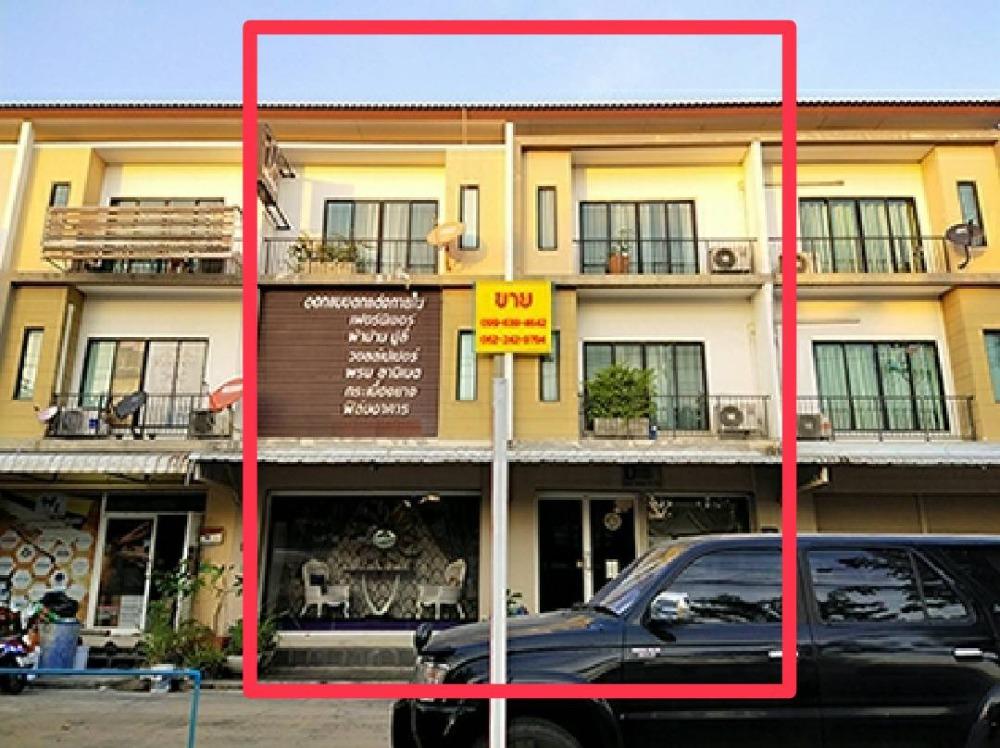 ขายตึกแถว อาคารพาณิชย์นวมินทร์ รามอินทรา : ขายอาคารพาณิชย์ 2 คูหา ติดถนนเพิ่มสิน