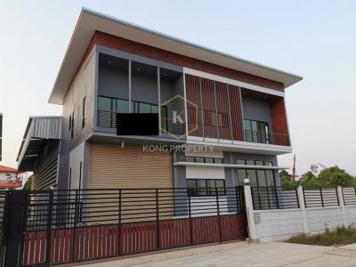 เช่าโกดังพระราม 2 บางขุนเทียน : ให้เช่าโรงงาน โกดัง พร้อมออฟฟิศ 2 ชั้น ซ.เทียนทะเล เขตบางขุนเทียน กรุงเทพ factory for rent Bang Khun Thian District, Bangkok