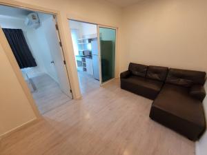 For RentCondoThaphra, Talat Phlu, Wutthakat : คอนโด ติดบันได BTS ห้องขนาด 30.5 ตร.ม. ชั้น 8 1 ห้องนอน เลขห้องมงคล