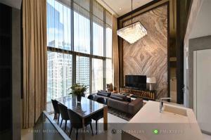 เช่าคอนโดสุขุมวิท อโศก ทองหล่อ : Vittorio Sukhumvit 39 - Luxury 2 Bedroom Duplex / Ready To Move in / RARE Unit
