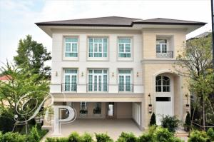 For SaleHouseYothinpattana,CDC : House for sale Crystal Solana, a super luxury house on the road along the Ramintra Expressway, near CDC