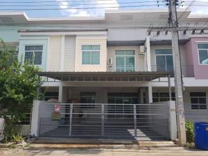 เช่าบ้านรังสิต ธรรมศาสตร์ ปทุม : ให้เช่า บ้านทาวน์เฮาส์  รังสิต คลอง3 #หมู่บ้านไทยสมบูรณ์3