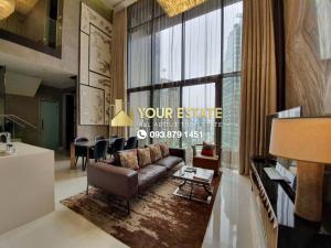 เช่าคอนโดสุขุมวิท อโศก ทองหล่อ : ขาย/เช่า Sell/Rent, Vittorio Sukhumwit39 > Duplex > Fully Furnished !