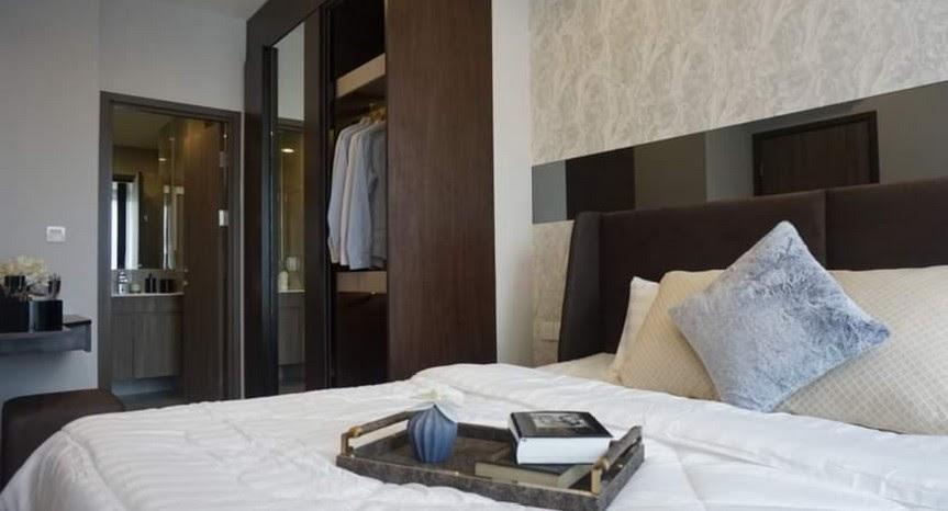 เช่าคอนโดพระราม 9 เพชรบุรีตัดใหม่ RCA : Ideo Mobi Asoke Condo for rent : 2 bedrooms 1 bathroom for 56 sqm. on 1x floor.Wtih nice decorated and furnished and electrical appliances.Rental only for 35,000 / m. Just 300 m. to MRT Phetchaburi.