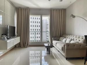 For RentCondoWitthayu, Chidlom, Langsuan, Ploenchit : The Address Chidlom, 1 large bedroom, corner room, fully furnished
