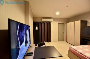 For RentCondoSamrong, Samut Prakan : 🔥🔥 For rent !! Ideo Sukhumvit 115, 11th floor, size 30 sqm, has a washing machine, ready to move in 🔥🔥 (can be reduced)