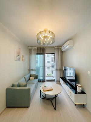 เช่าคอนโดรัชดา ห้วยขวาง : ให้เช่า คอนโด แอสปาย อโศก - รัชดา 🍁ใกล้ MRT พระราม9 🍁 50ตรม 2ห้องนอน 🍁ห้องแต่งสวยมาก