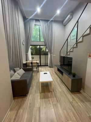 เช่าคอนโดสาทร นราธิวาส : Duplex room size 52 Sqm at Blossom Condo Sathorn