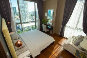 For RentCondoSukhumvit, Asoke, Thonglor : For rent Quattro by Sansiri Thonglor Soi 4 1 bed 1 bath size 55 sqm 20th floor fully furnished ฺBTS Thong lor