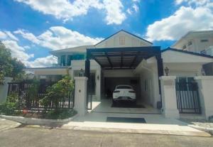 ขายบ้านเลียบทางด่วนรามอินทรา : BS356 ขาย บ้านเดี่ยว Masterpiece รามอินทรา, หมู่บ้าน มาสเตอร์พีซ รามอินทรา