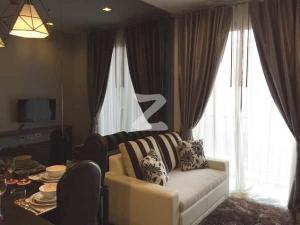 For RentCondoWongwianyai, Charoennakor : W0921 Condo for rent, Nye by Sansiri, 1 bedroom 1 bathroom Building A, 15th floor, size 32 sq.m. South room, Cool breeze all day, City view, Fully furnished, Near BTS Wongwian Yai