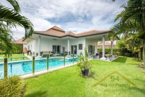 For SaleHouseHua Hin, Prachuap Khiri Khan, Pran Buri : Luxury home for sale HuaHin 112    modern style and bright home with private pool